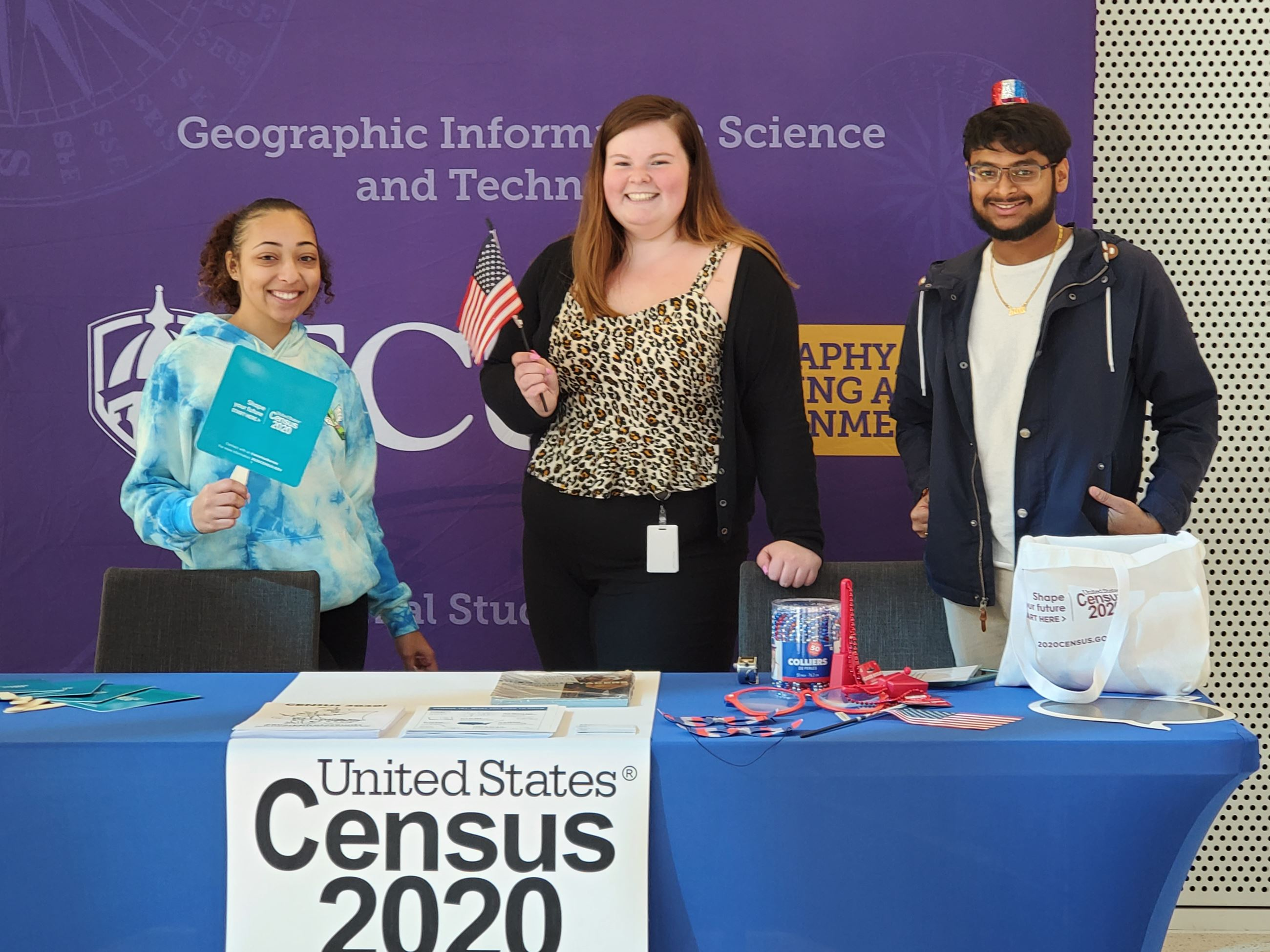 3 ECU SPAN Members promote Census 2020 on ECU Campus