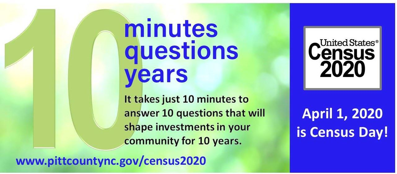 Census 2020 Flyer with Website Link Info
