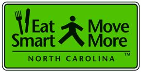 Eat Smart Move More North Carolina Logo