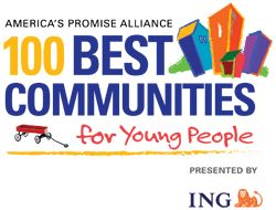 America's Promise Alliance 100 Best Communities for Young People logo