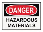 Danger Hazardous Material logo