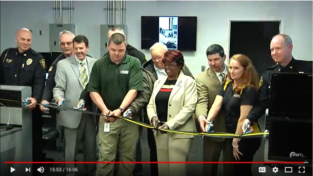 911 Center Ribbon Cutting