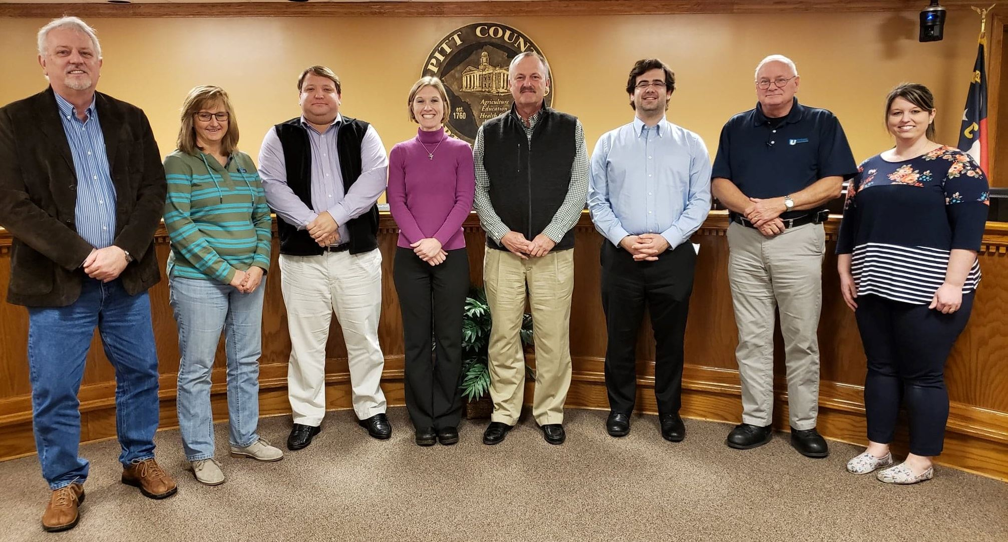 Animal Services Advisory Board Members on Jan. 23 2019
