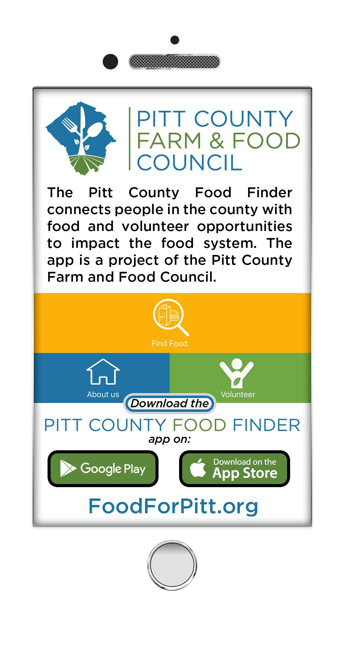 Food Finder | Pitt County, NC