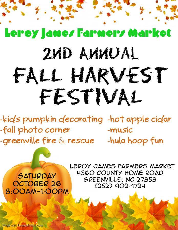 Fall FestivalFarmers Market 2019 - Made with PosterMyWall