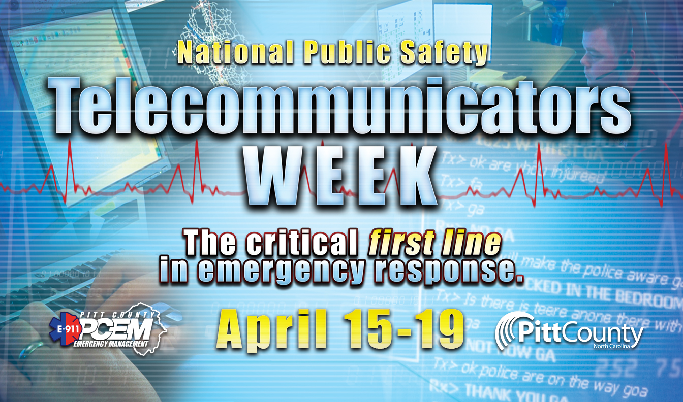 Telecommunicators Week Banner