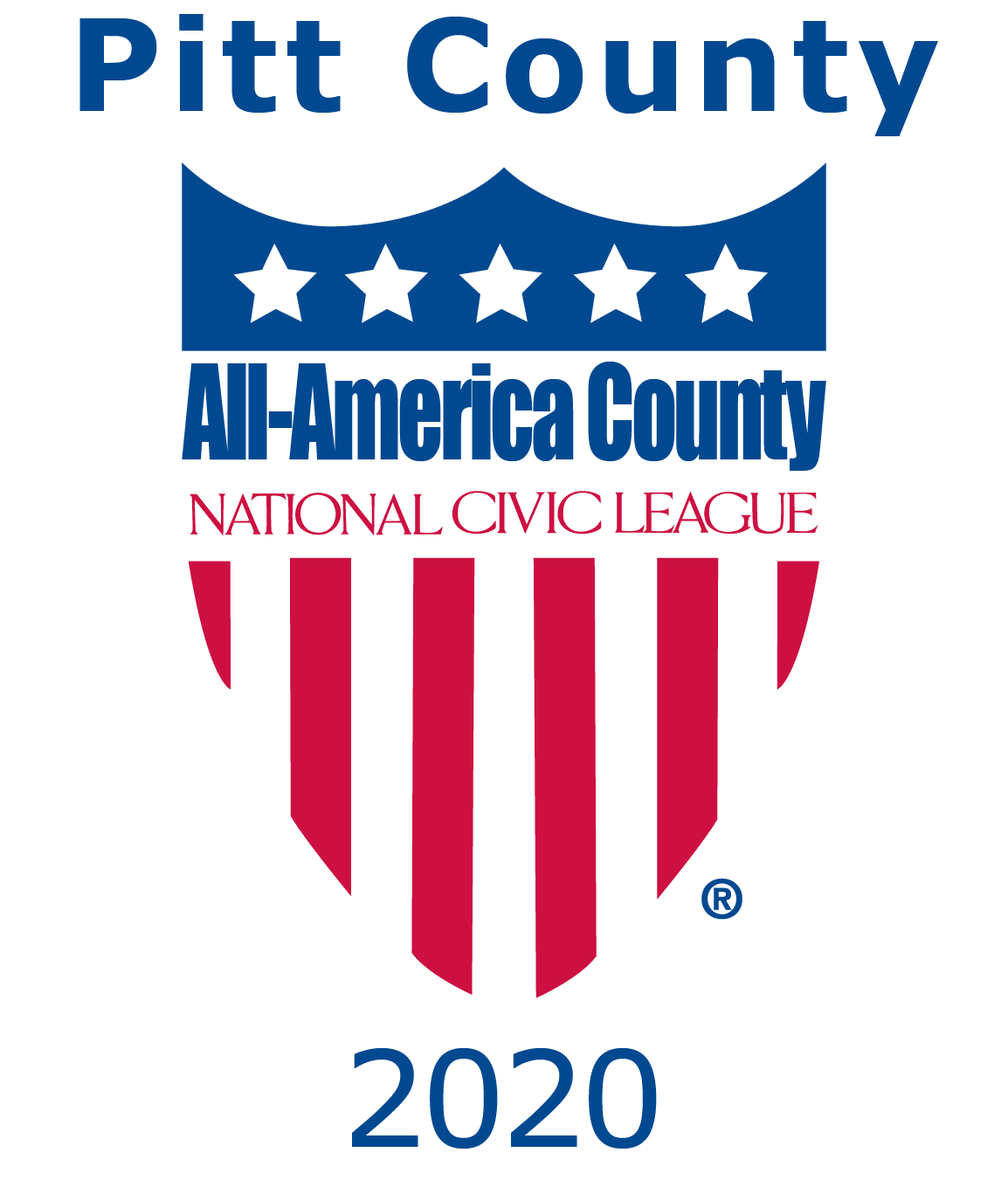 2020 All-America County Award Logo