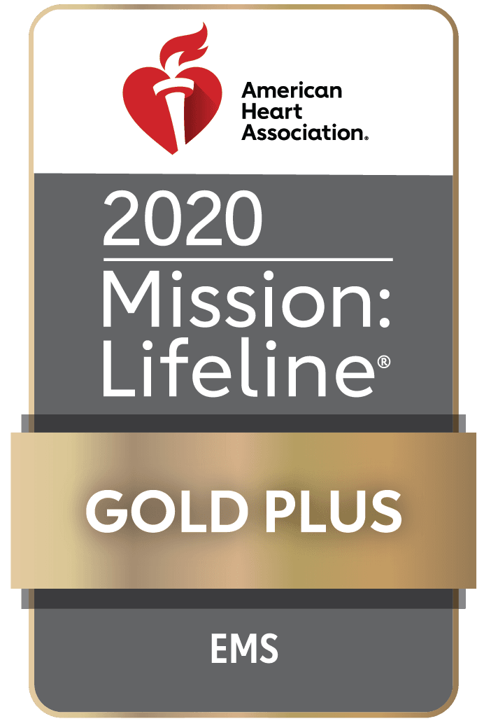Mission: LifeLine Gold Plus Award badge