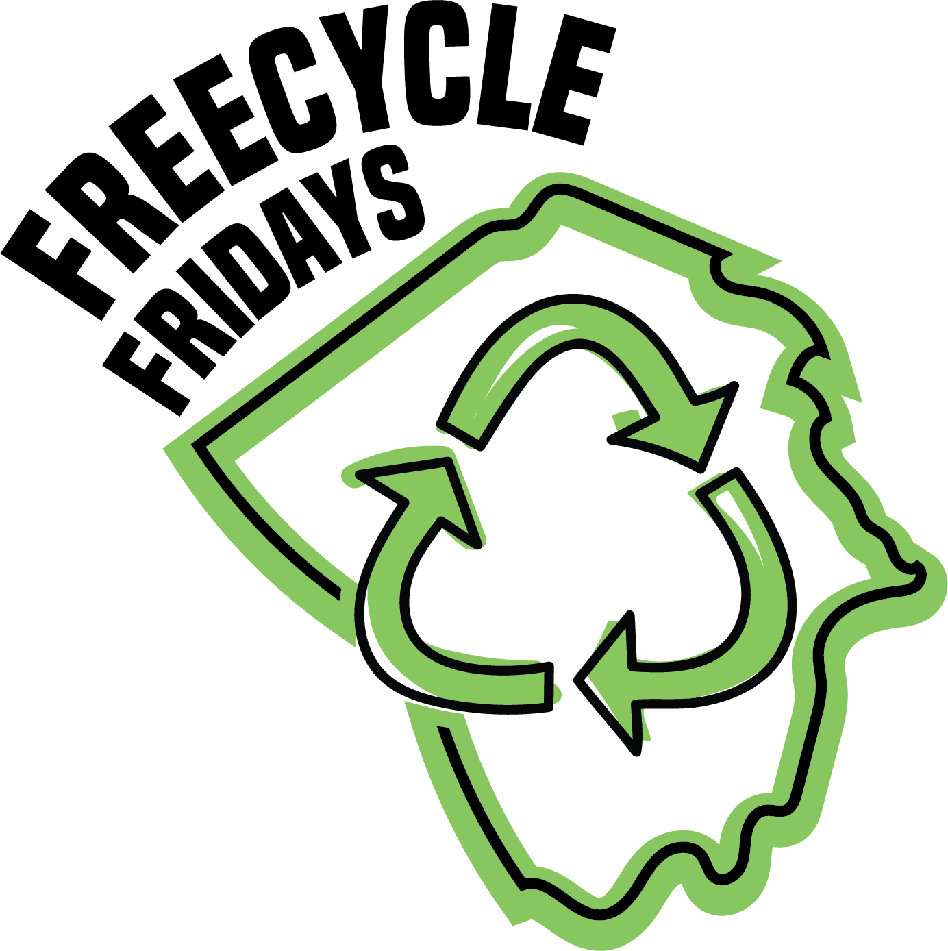 FreeCycle Friday - circle logo