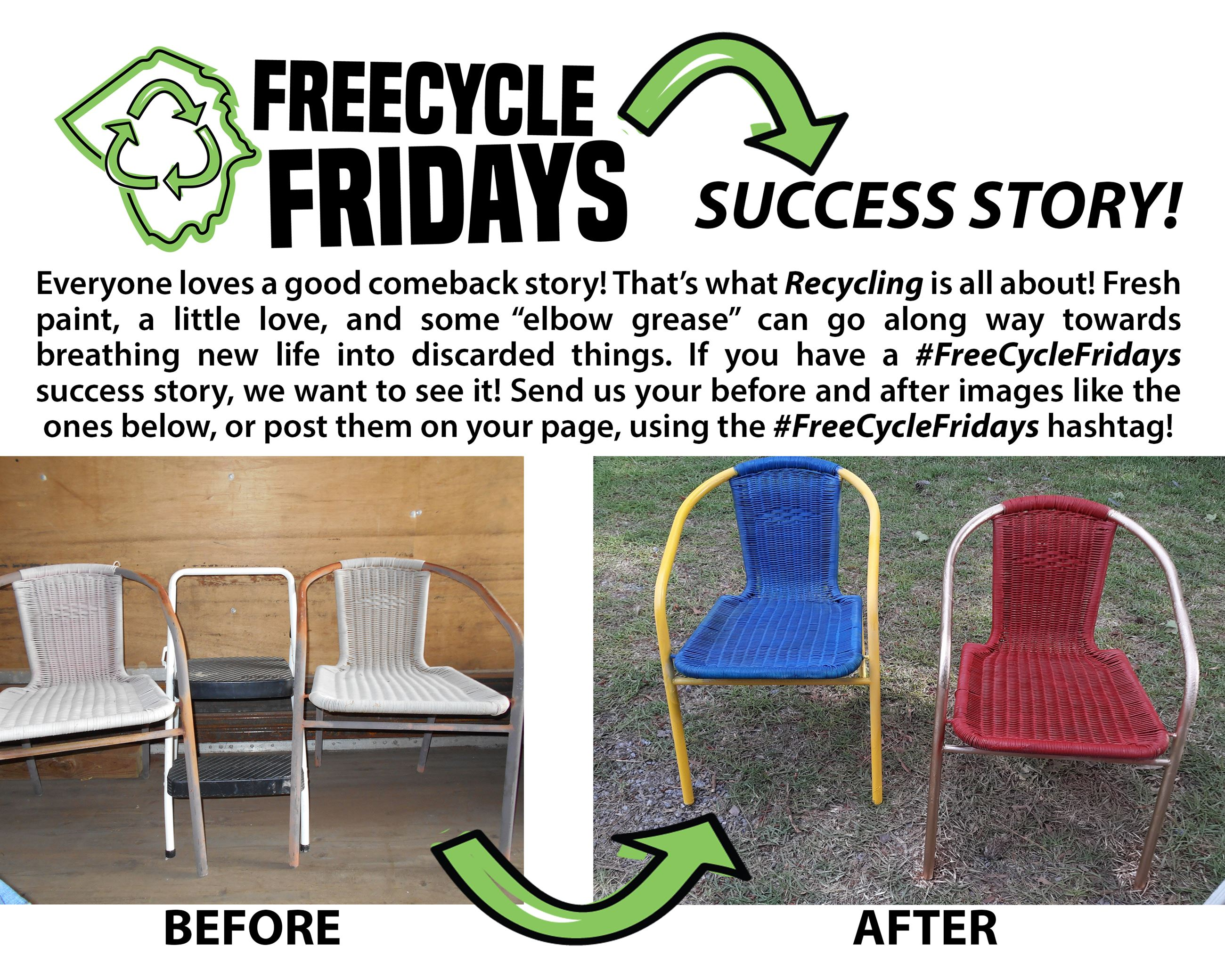 FreeCycle Fridays Success Story_No. 2